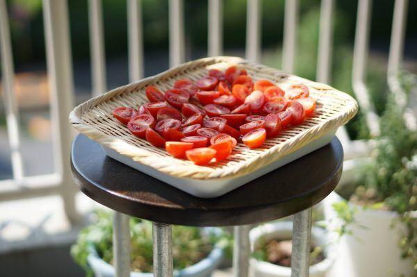 プチトマトでつくるドライトマト