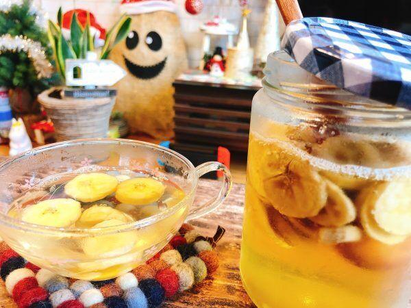 便秘改善やダイエットに♪冬の朝に飲みたい「バナナのサワーシロップ」