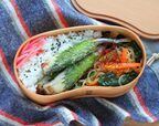 フライパンだけで簡単!「大葉ししゃも」「しらたきと野菜のピリ辛炒め」2品弁当