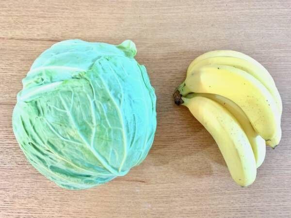 朝食&おやつにちょい足し!空腹を感じにくい「バナキャベダイエット」