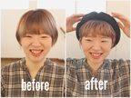 うしろ髪は寝ぐせのままでOK!「前髪を巻くだけ」時短おしゃれヘアの作り方