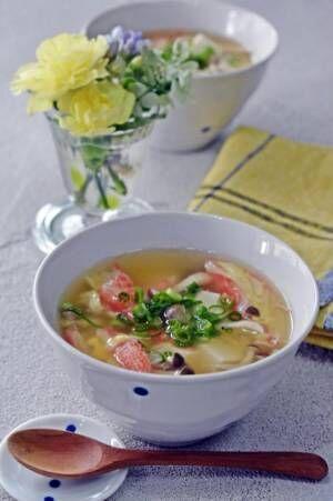温まる♪カニカマ、豆腐の卵スープby:くつろぎの食卓さん