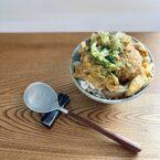 休日のおうち朝時間に♪残り物で簡単「コロッケ丼」と小説『キッチン』