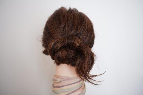 夏のまとめ髪