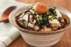 だし要らず5分で簡単!梅と豆腐の「ほうじ茶茶漬け」