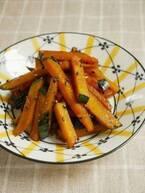 調味料3つだけ!炒めるだけで簡単「かぼちゃのメープルきんぴら」