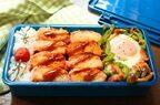 フライパン1つで簡単!「かまぼこフライ」「野菜とベーコンの巣ごもり卵」2品弁当