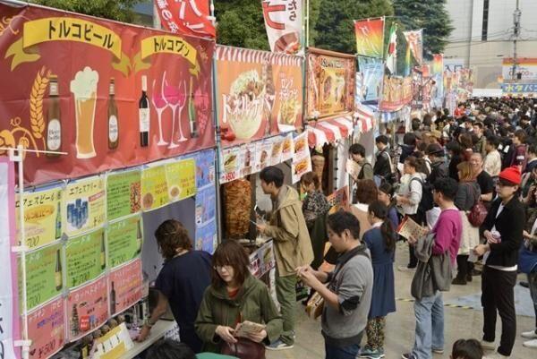 「ケバブグランプリ2016」が新宿・大久保公園で11月開催!「肉食の秋」を楽しもう