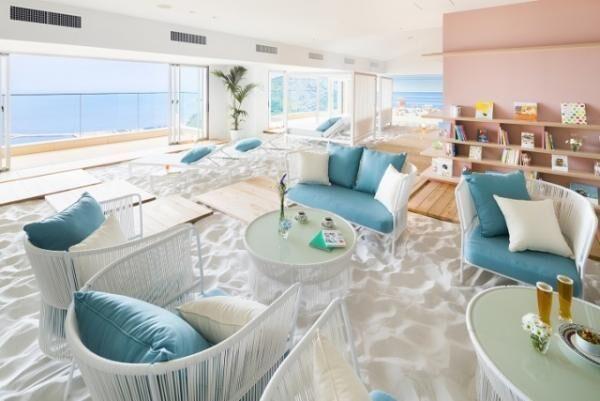 天空のビーチ!「ソラノビーチBooks&Café」リゾナーレ熱海にオープン!
