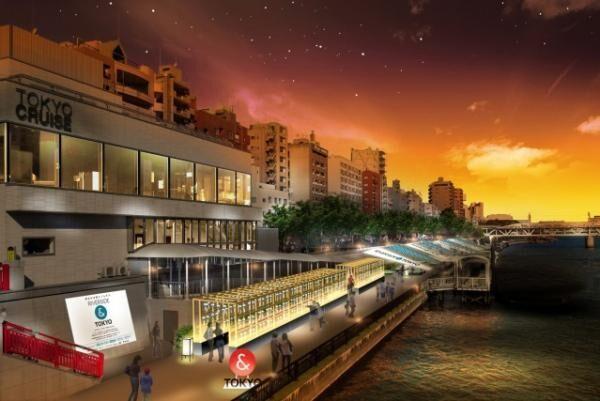 風鈴の音色を聞きながら夕涼み!隅田川テラスでRIVERSIDE&TOKYOが開催!
