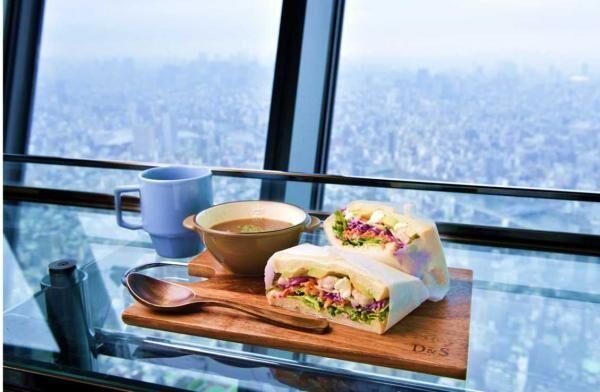 スカイツリーカフェの「眺食」で、心も体もリフレッシュ!ヘルシーな朝食で素敵な朝時間