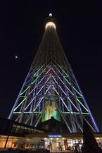 高さ約120mの巨大スクリーンで魅せる!スカイツリーのプロジェクションマッピングがすごい!