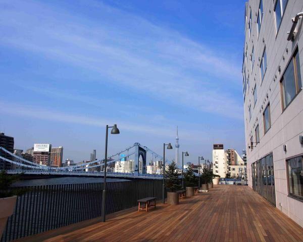 隅田川沿いに川床が出現!?シェアホテル「LYURO東京清澄」がオープン
