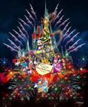 クリスマス期間限定!東京ディズニーランドで新たなキャッスルプロジェクションが開催