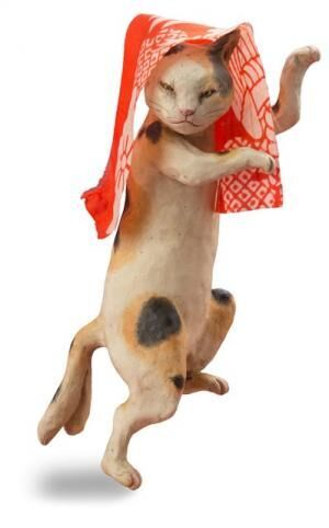 文化財で猫づくしを楽しもう!「福ねこat百段階段」展~和室で楽しむ ねこアート