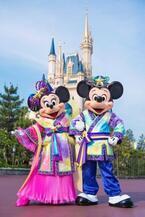 彦星&織姫風コスチュームをお披露目!6月15日から「ディズニー七夕デイズ」スタート