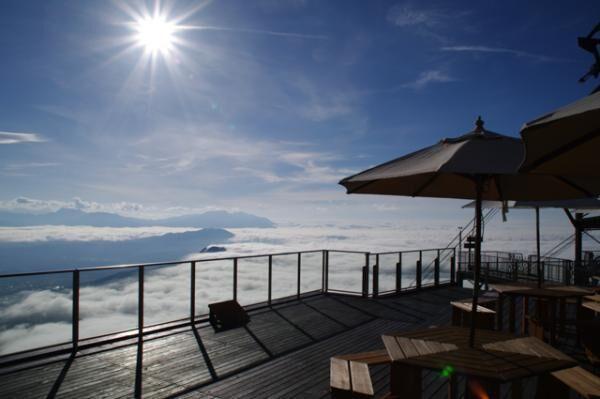 雲海を望むカフェ!長野・竜王マウンテンパーク「SORA terrace cafe」オープン