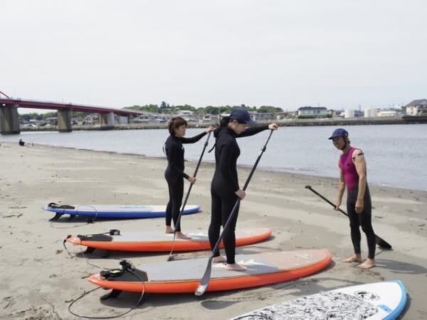 「ランドネ海大学」で海の魅力を発見!大洗でSUPとヨガを楽しもう