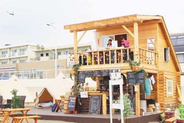 グランピングビーチにヘアブースが期間限定でオープン!湘南の海でヘアアレンジを体験しよう