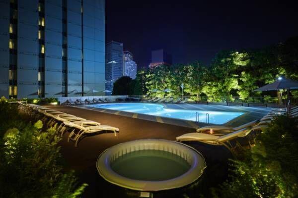 品川プリンスホテルの「ナイトヨガ」で疲れをリセット。水がテーマの癒しの空間で猛暑を乗り切る