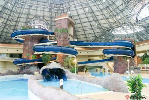 北関東最大級の室内プール!深谷グリーンパーク「アクアパラダイス パティオ」へ行こう!