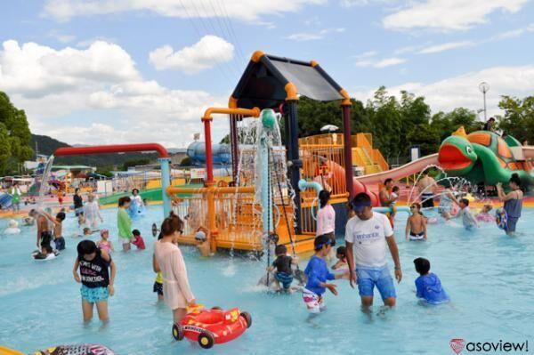 橿原市総合プールが7月8日開園!迫力満点のジャンボスライダーで夏を楽しもう