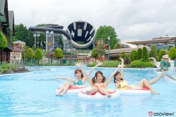 東京サマーランドの屋外プールが10月1日まで営業中!スリル満点のプールを楽しもう!