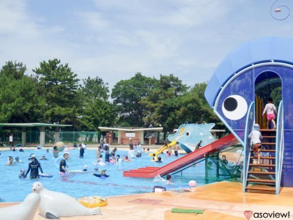 安くて広くて楽しい!美しい松林を誇る大阪府堺市浜寺公園の「浜寺公園プール」で遊ぼう!