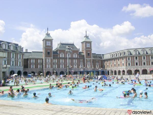 兵庫 道の駅 神戸フルーツ・フラワーパーク大沢のプールでリゾート気分を味わおう
