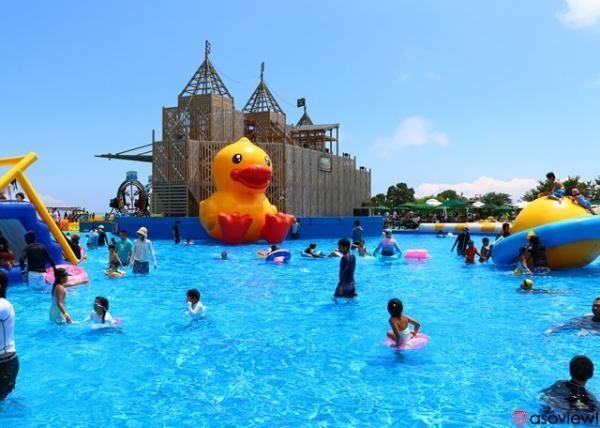伊豆ぐらんぱる公園で巨大な水遊びゾーン「ウォーターランドぷるぷる」が営業中!