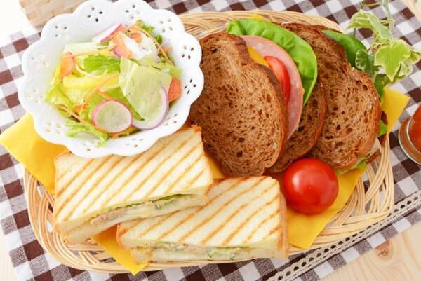 ダイエッター必見!太りにくいサンドイッチの選び方4つ