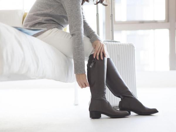 ショートブーツが似合うスッキリ美脚になりたい!