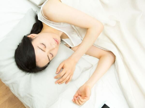 涙活の効果① 良質な睡眠が得られる