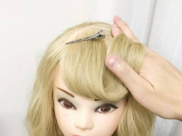 夢見るガール気分を味える、お手軽前髪アレンジ! ぶきっちょさん向け簡単アレンジテクニック