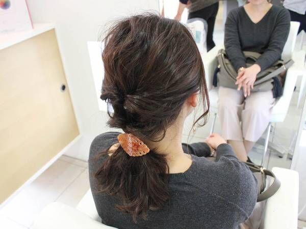 くるりんぱだけで簡単完成!こなれ感バツグンなポニーテールでヘアアレンジに差をつけよ!