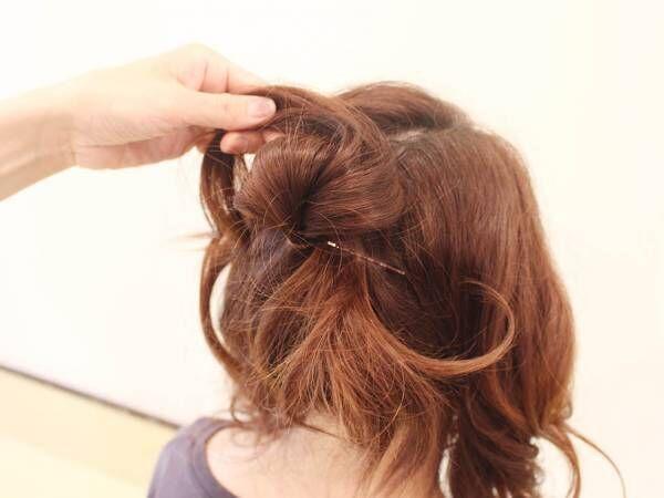【子供向けヘア】大きなリボンを付けてるみたい!キュートなリボン風ヘアアレンジ