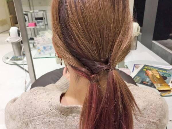 意外と簡単!クロスくるりんぱヘアで旬なナチュ盛りヘアを手に入れましょ?
