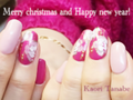 お正月までOKなクリスマスネイルって? 年明けまで楽しめる年末年始ネイルのすすめ。