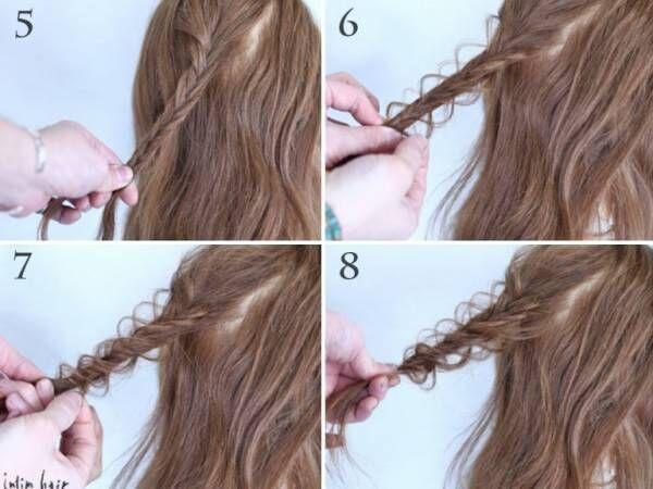 アレンジの出来を変える!定番フィッシュボーンを使って、毛束のほぐし方をじっくり解説