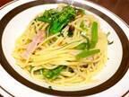 元カフェ店員が教えるオータムポエム(アスパラ菜)を使ったペペロンチーノ♡