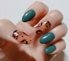 今年のトレンド「レオパード」!実際に自分の爪に塗ってみました*\(^o^)/*