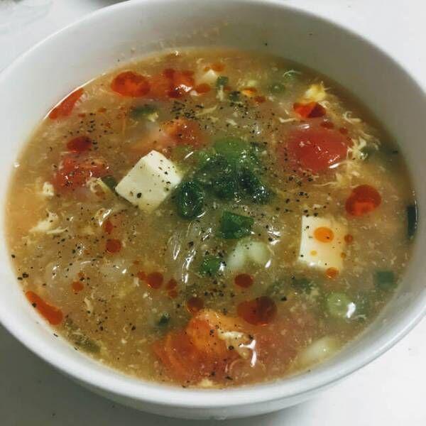 栄養もばっちり!身体があたたまるスープです♪