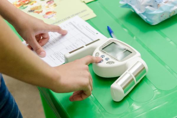 体脂肪の測り方