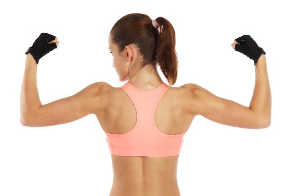 二の腕の筋肉