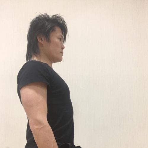 肩甲骨のストレッチ