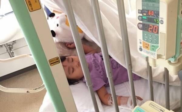 入院している子どものイメージ