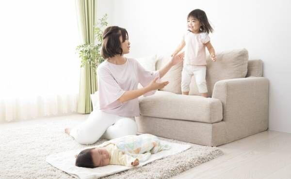 二人育児のイメージ