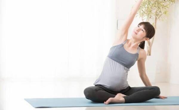 妊婦さん運動のイメージ