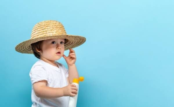 赤ちゃんの日焼け予防のイメージ