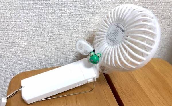 携帯扇風機横2